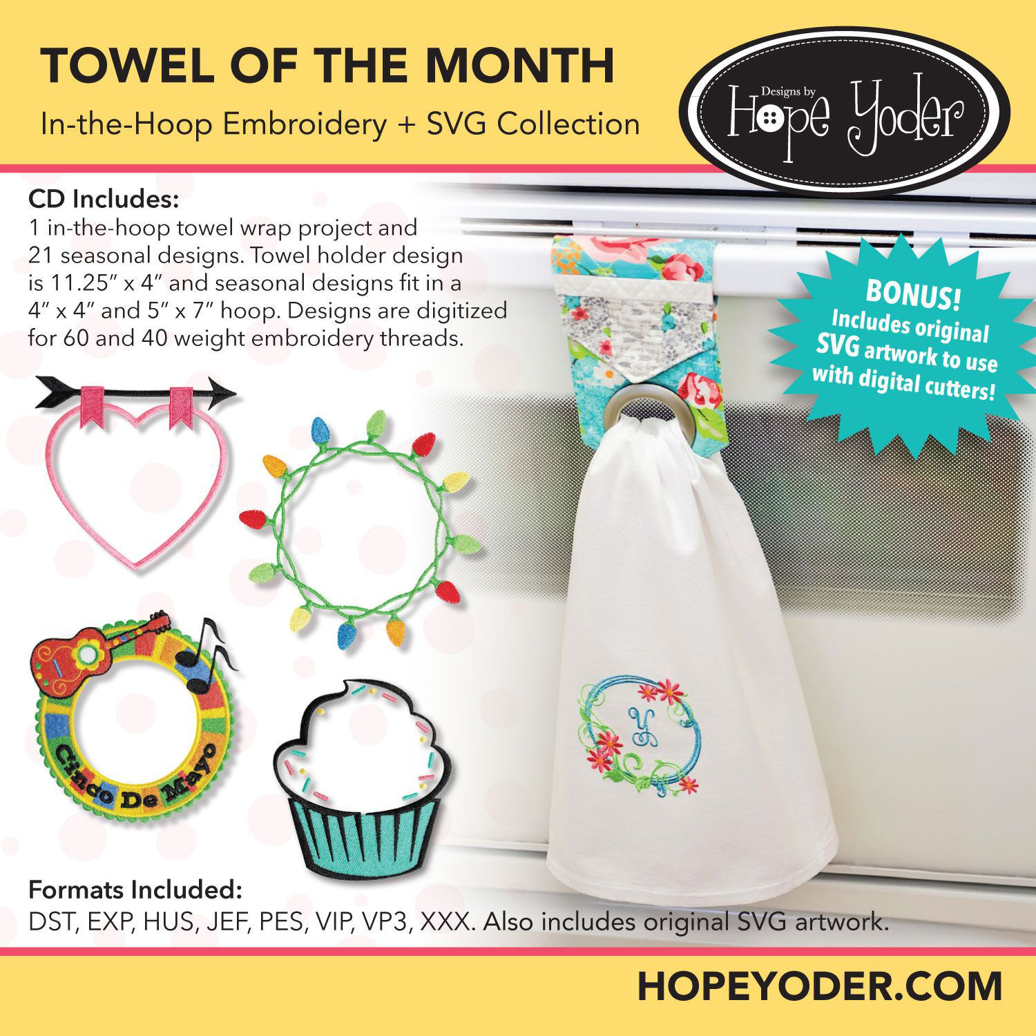 Towel of the Month CD