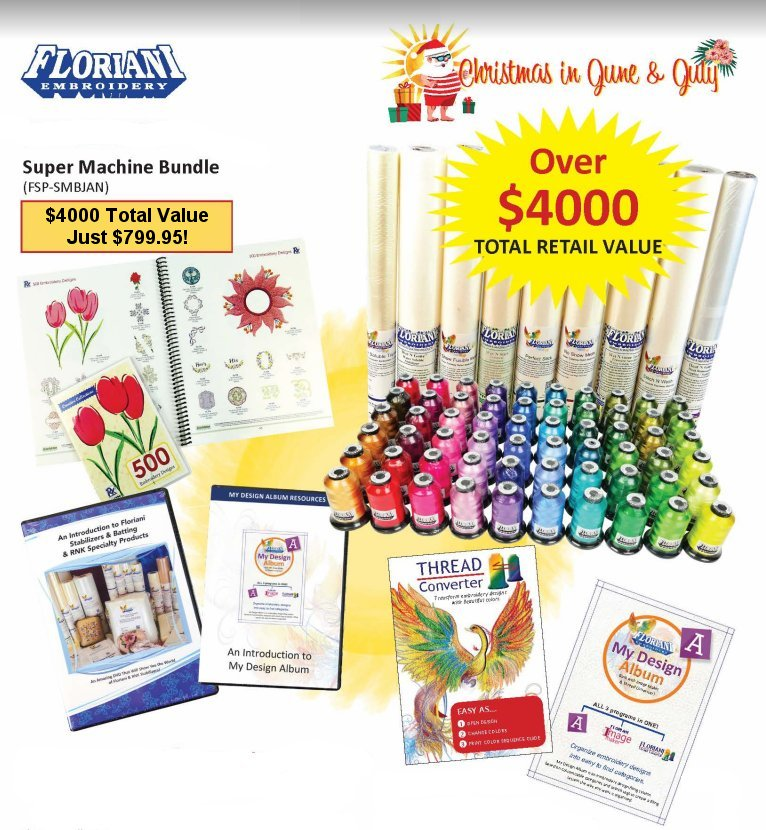 Floriani Super Machine Bundle