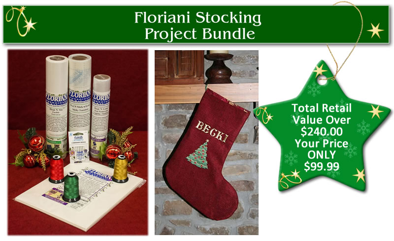 Floriani Stocking Project Bundle