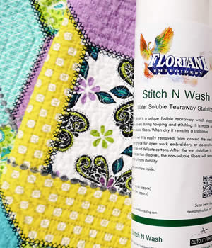 Stitch N Wash Tearaway Embroidery Stabilizer
