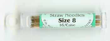 Foxglove Cottage Straw Needle Size 8