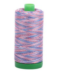 Aurifil 2 Ply Variegated Thread 40wt Mako Cotton