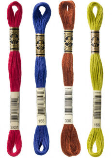 DMC Size #25, 6 Strand Cotton Embroidery Floss