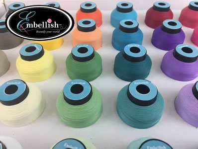 Embellish Matte 40wt Polyester Thread