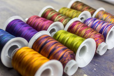 Wonderfil Fabulux Variegated 3-Ply 40wt Polyester