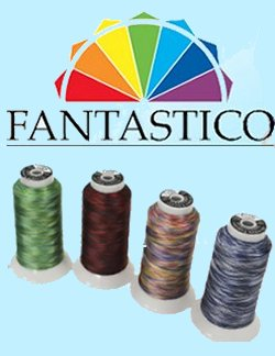 Superior Fantastico 40wt Variegated Poly Thread