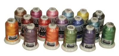 Floriani Variegated Rayon Thread 40wt