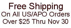Flat Rate US Shipping