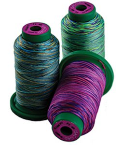Isacord Multi Color Variegated Embroidery Thread