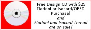 Floriani and Isacord Sale