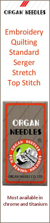 New Organ Needles