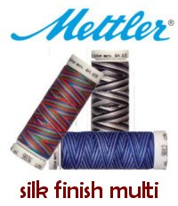 Mettler Cotton Silk Finish Multi Thread