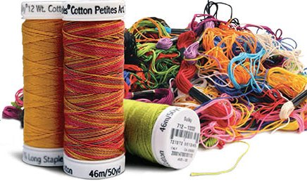 Sulky 12wt Petites Cotton Thread