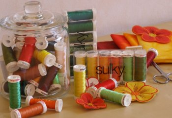 Sulky Embroidery Thread 40 weight