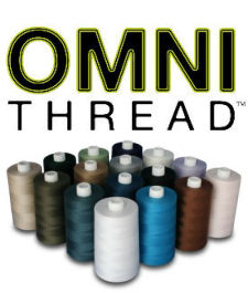 Superior OMNI-V 40wt Variegated Poly-Wrapped Poly Core Thread