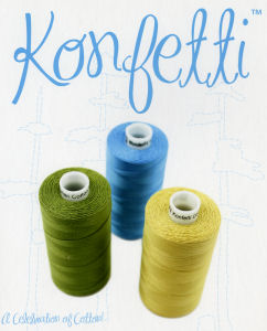 WonderFil Konfetti 50wt Cotton Thread