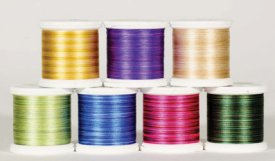 YLI Silk Thread 100wt Variegated