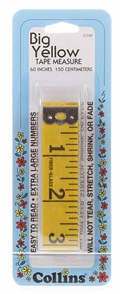 Big Yellow Tape Measure Extra Wide