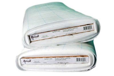 Bosal Quilters Grid Fusible Polyester Interfacing