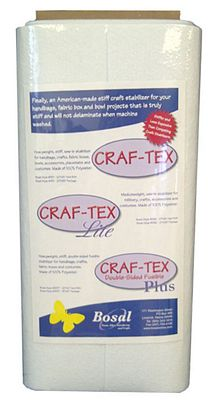 Craf-Tex Lite Mediumweight Stiff Craft Sew-In