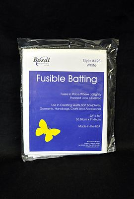 Bosal Fusible Polyester Fleece Batting