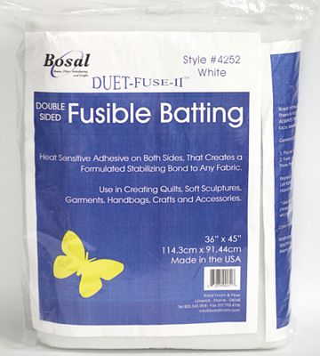 Bosal Duet Fuse II Double-Sided Fusible Batting