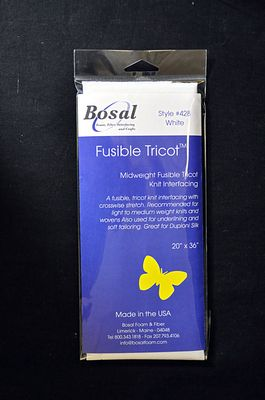 Bosal Fusible Tricot/Knit