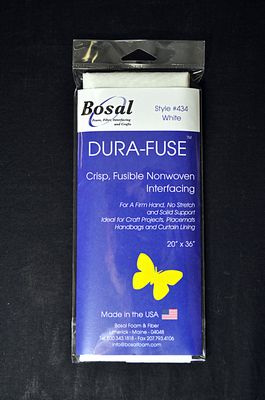 Bosal Dura-Fuse Iron-On 100% Polyester Stabilizer