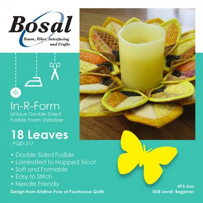 Bosal In-R-Form Double-Sided Fusible Stabilizer Shapes