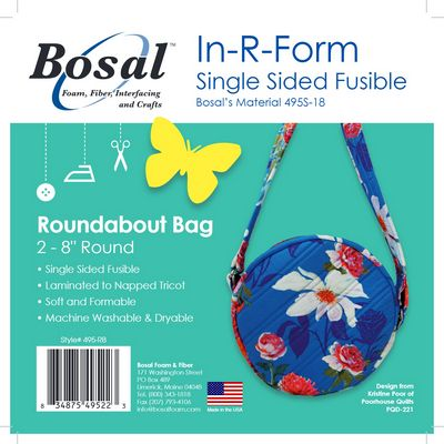Bosal In-R-Form Single-Sided Fusible Stabilizer Shapes