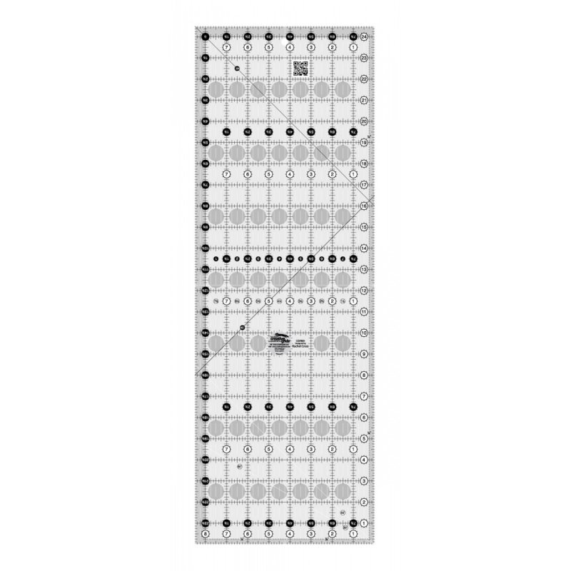 Creative Grids Quilt Ruler 8-1/2in x 24-1/2in