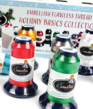 Embellish Flawless Holiday Basics Thread Collection