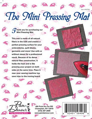 Decorating Diva Mini Pressing Mat