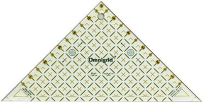 Omnigrid Right Triangle Half Inch
