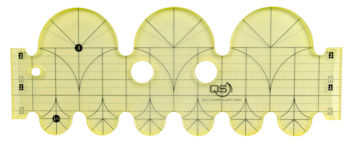 Quilters Select Clamshell Precision Quilting Rulers