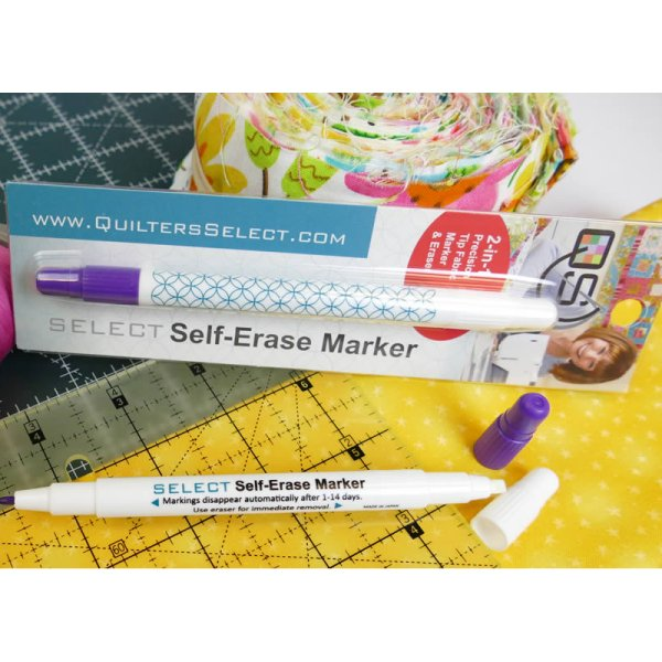 Quilters Select Self Erase Marker