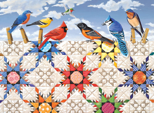Feathered Stars 500pc Jigsaw Puzzle