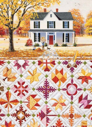 Autumn Leaves 500pc Jigsaw Puzzle