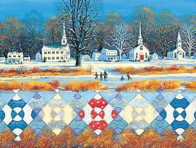 Jigsaw Puzzle The Steeple Chase 500pc
