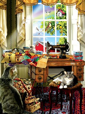 Jigsaw Puzzle The Sewing Room 1000pc