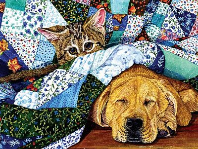 Quilted Comfort 500pc Jigsaw Puzzle