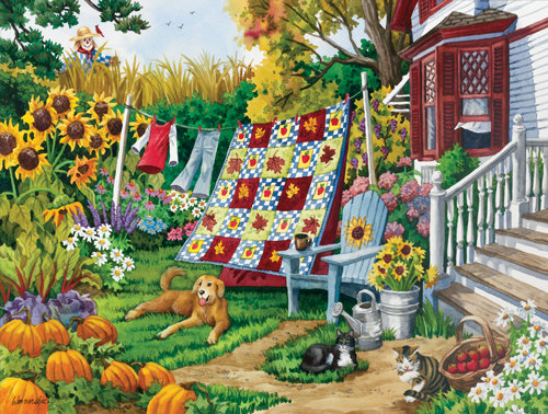 Country Autumn Puzzle 500pc Jigsaw Puzzle
