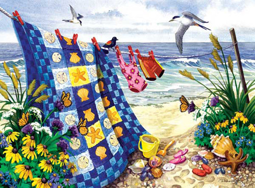 Seaside Summer 500pc Jigsaw Puzzle