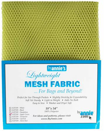 By Annies Lightweight Mesh Fabric
