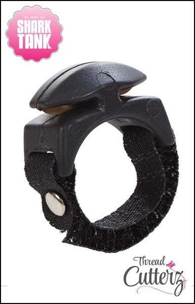 Thread Cutterz Ring Black