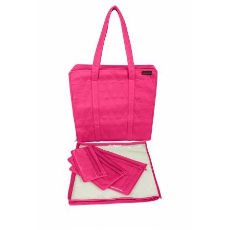 Yazzii Maxie 4pc Set Fuchsia