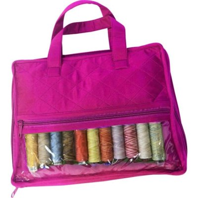 Yazzii Ultimate Thread Organizer Fuchsia