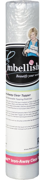 Embellish Iron-Away Clear Topper