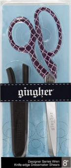 Gingher 8in Dressmaker Scissors Wren