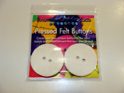 Innovative Craft Products Felt Buttons